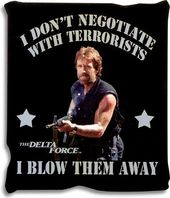 Delta Force - Don't Negotiate - Micro-Plush Throw