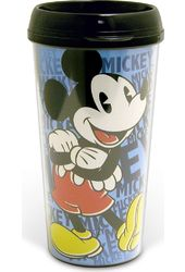 Disney - Mickey Mouse - 16 oz. Plastic Travel Mug