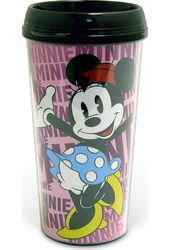Disney - Minnie Mouse - 16 oz. Plastic Travel Mug