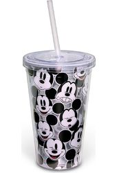 Disney - Mickey Mouse - Faces - 16 oz. Plastic