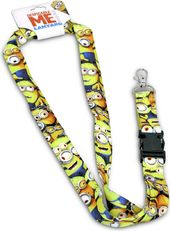 Despicable Me - Cluttered Minions Lanyard