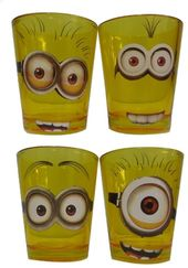 Disney - Despicable Me - Minions Faces - 4-Piece