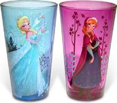 Disney - Frozen - Anna & Elsa - 2-Piece Colored