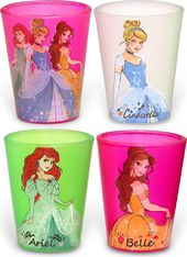 Disney - Princess Standing Circle - 4-piece Shot