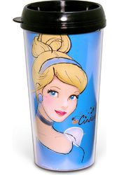 Disney - Cinderella - 16 oz. Plastic Travel Mug
