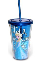 Disney - Frozen - Elsa - Snowburst - 16 oz. Blue