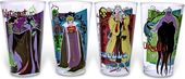 Disney - Villains - 4pc 16oz Pub Glass Sets Clear