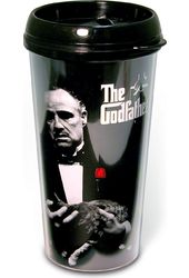 The Godfather - Movie Poster 16 oz. Plastic