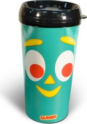 Gumby - Face - 16 oz. Plastic Travel Mug