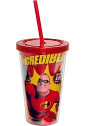 Disney - Incredibles - Blasting Evil 16oz Plastic