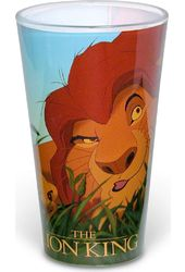 Disney - Lion King Single Boxed Pub Colored Glass
