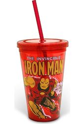 Marvel Comics - Iron Man - Action 16 oz. Plastic