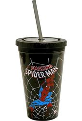 Marvel Comics - Spiderman - Swings: Black 16 oz.