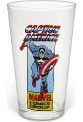 Marvel Comics - Captain America 16 oz. Pint Glass