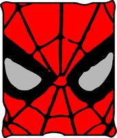 Marvel Comics - Spiderman - Eyes: Fleece Blanket