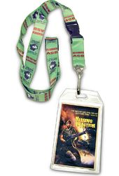 Chuck Norris - Toes Lanyard w/Badge Holder