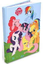 "My Little Pony - Friendship is Magic 6""x8"" Hard"