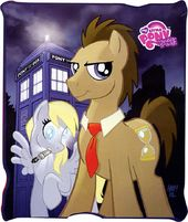 "My Little Pony - Dr. Whooves 50"" x 60"""