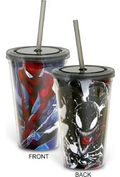 Marvel Comics - Spiderman vs. Venom 16 oz.