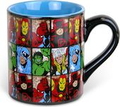 Marvel Grid - 14oz Ceramic Mug