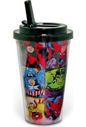 Marvel Comics - Character Grid - 16oz Plastic