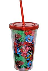 Marvel Comics - Group Shot - 16oz Plastic Cold