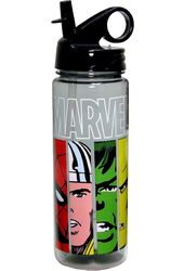 Marvel Comics - Faces Panel - 600 ml Tritan Water