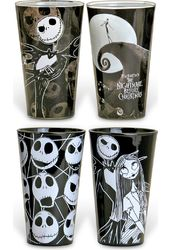 Nightmare Before Christmas - 4pc 16oz Pub Glass