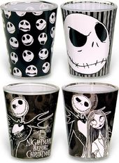 Nightmare Before Christmas - Colored Shot Glass