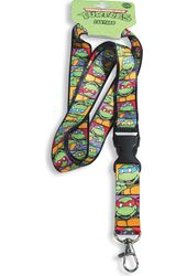 Teenage Mutant Ninja Turtles - Faces Lanyard