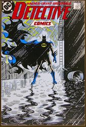 DC Comics - Batman - Alley - Printed Wood Wall