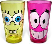 Sponge Bob - Happy/Patrick Grin: 2 Piece 16 oz.