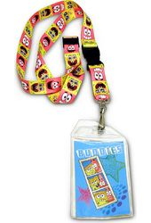Sponge Bob - Lanyard ID Badge Holder
