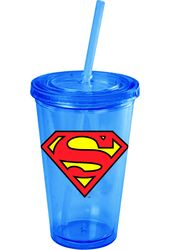 DC Comics - Superman - Logo - 16 oz. Plastic Cup