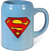 DC Comics - Superman - Logo - Blue 22 oz. Ceramic