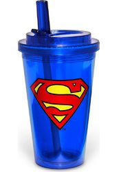 DC Comics - Superman - Logo - 16 oz. Plastic Flip