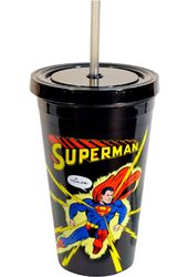 DC Comics - Superman - Action - 16 oz. Plastic