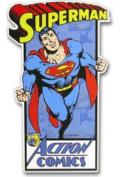 DC Comics - Superman - Die Cut Wall Art