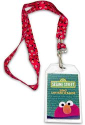 Sesame Street - Elmo Lanyard with Badge Holder