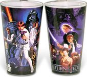 Star Wars Cast Action - 2pc Pub Set Colored Glass