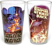 Star Wars - Posters: 2 Piece Clear Pint Glass Set