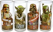 Star Wars - Characters With Names: 4 Piece 10 oz.
