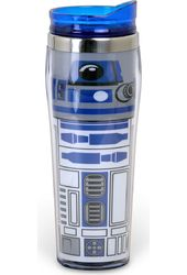 R2D2 Uniform - 16oz Curved Plastic Travel Mug