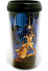 Star Wars - Classic: 16 oz. Plastic Travel Mug
