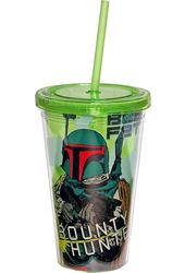 Star Wars - Boba Fett 16 oz. Plastic Cup With Lid