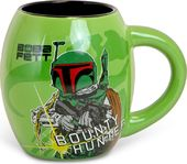 Star Wars Boba Fett 18oz - 18oz Ceramic Oval Mug