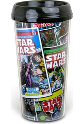 Star Wars Comic - 16oz Plastic Travel Mug