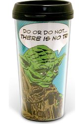 Star Wars - Yoda: Comic 16 oz. Plastic Travel Mug