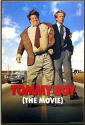 "Tommy Boy - Movie Poster 13"" x 19"" Printed Wood"