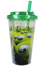 Toy Story - LGMs 16oz Plastic Flip Straw Cold Cup